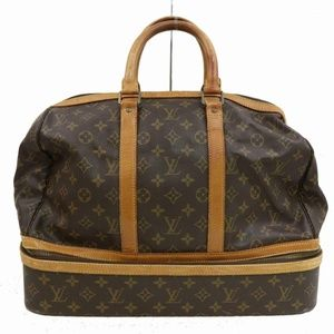 Auth Louis Vuitton Sac Sport Travel Bag #848L25